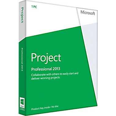 New Microsoft Project Professional 2013 Product Key Sale